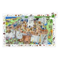 Fortified Castle Observation Puzzle - 100pcs