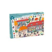 The Hedgehog School Observation Puzzle - 35pcs