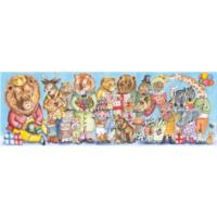 King Party Gallery Puzzles - 100pcs