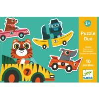 Racing Cars Puzzle Duo