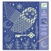 At Night Scratch Cards