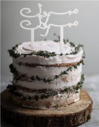 Mabrook Cake Topper