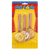 Gold, Silver & Bronze Medals