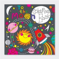 To The Moon Colouring Book