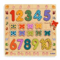 Educational Wooden Puzzles - 1 to 10