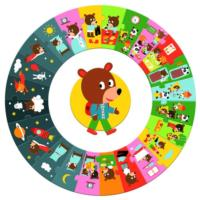The Day Giant Circle Puzzle - 24pcs