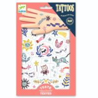 Sweet Dreams Glow in the Dark Tattoos