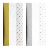 Gold Or Silver Tissue Paper