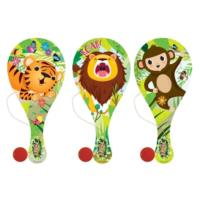 Jungle Paddle Bat & Ball