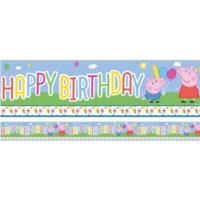 Peppa & George Party Banner