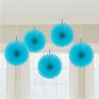 Mini Blue Hanging Fans