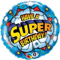 Super Birthday Foil Balloon
