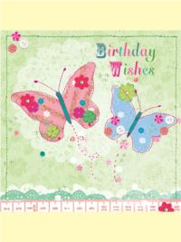 Butterfly Birthday Wishes