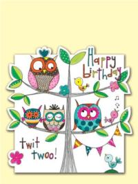 Happy Birthday Owls