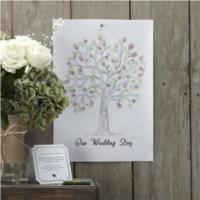 Vintage Affair - Finger Print Tree - Green