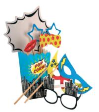 Pop Art Party - Photo Booth Kit