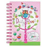 Daily Plans Tabbed Journal