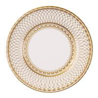 Porcelain Gold Large Plate