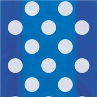 Royal Blue Dots Cello Bags