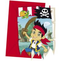 Jake & the Neverland Pirates Invitations