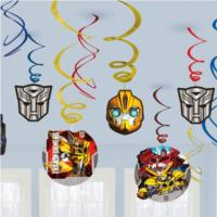 Transformers Hanging Swirls