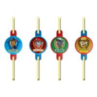 Paw Patrol Party Straws