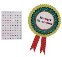 Birthday Bash Rosette