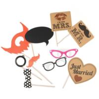 Vintage Affair - Mr & Mrs Photo Booth Kit