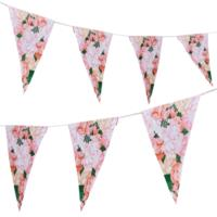 Floral Paper Bunting