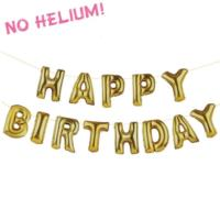 Birthday Balloon Banner