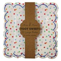 Toot Sweet Spotty Large Plate