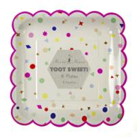 Toot Sweet Charms Pink Plate