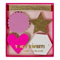 Toot Sweet Pink Mini Garland