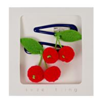 Cherries Hair Clips