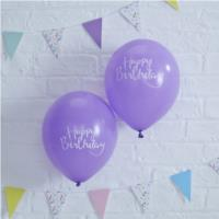 Pick & Mix HB Purple Balloons