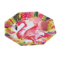 Flamingo Fun - Paper Plates