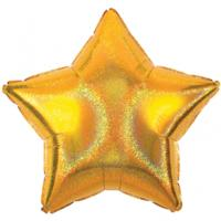 Gold Dazzler Star Balloon 19