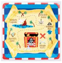 Pirates Treasure Plates