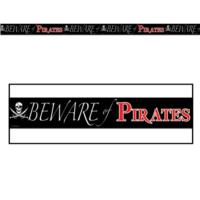 Beware of Pirates Party Tape