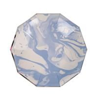 Marble Blue Pattern Small Plate
