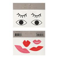 Eyes & Lips Tattoos