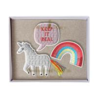 Unicorn Brooches