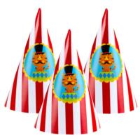 Circus Cone Hats