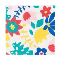 Tropical Flowers Napkins