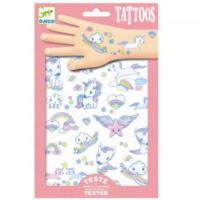 Unicorns Glitter Tattoos