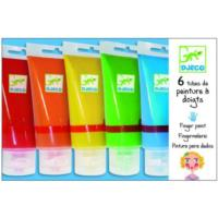 Finger Paint Tubes