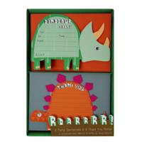 Dinosaur Invitations and Thank You Notes