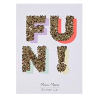 Fun! Glitter Stickers
