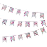 Truly Romantic Floral Bunting