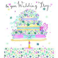 Wedding Day Cake Card